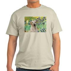 Irises - Yellow Labrador T-Shirt