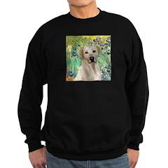 Irises - Yellow Labrador Sweatshirt