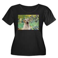 Irises - Yellow Labrador T