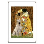 The Kiss-Yellow Lab Banner