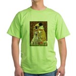 The Kiss-Yellow Lab Green T-Shirt