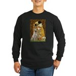 The Kiss-Yellow Lab Long Sleeve Dark T-Shirt