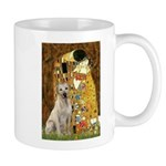 The Kiss-Yellow Lab Mug