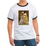 The Kiss-Yellow Lab Ringer T