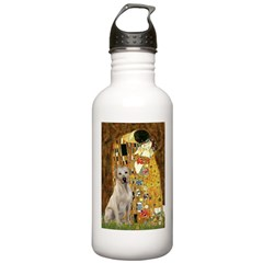 The Kiss-Yellow Lab Water Bottle