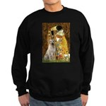 The Kiss-Yellow Lab Sweatshirt (dark)