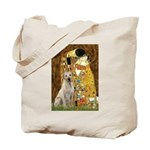 The Kiss-Yellow Lab Tote Bag