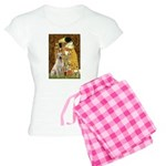 The Kiss-Yellow Lab Women's Light Pajamas