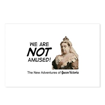 Queen Victoria Postcards (Package of 8)
