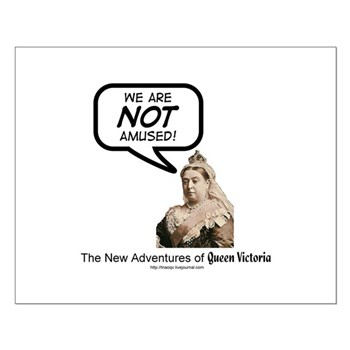 Queen Victoria Small Poster