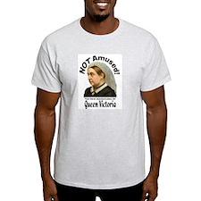 Queen Victoria Ash Grey T-Shirt