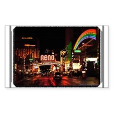 Reno Nevada Rectangle Decal