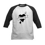 Daddy Forever Kids Baseball Jersey