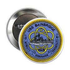 USS Bainbridge CGN 25 Button