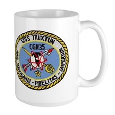USS Truxtun CGN 35 Mug