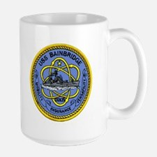 USS Bainbridge CGN 25 Large Mug