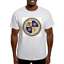 USS Long Beach Ash Grey T-Shirt
