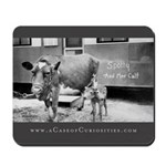 2 Headed Calf Mousepad