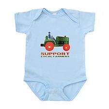Farm Tractor Infant Bodysuit