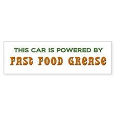 Powered By Fast Food Grease