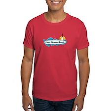Point Pleasant Beach NJ - Surf Design T-Shirt