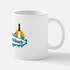 Point Pleasant Beach NJ - Surf Design Mug