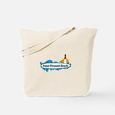 Point Pleasant Beach NJ - Surf Design Tote Bag