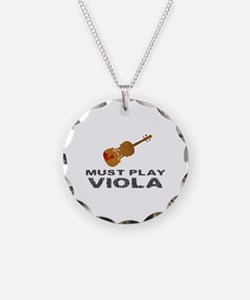 Must Play Viola Necklace