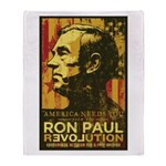 Ron Paul Throw Blanket