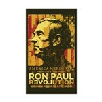 Ron Paul Sticker (Rectangle 10 pk)