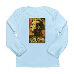 Ron Paul Long Sleeve Infant T-Shirt