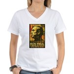 Ron Paul Women's V-Neck T-Shirt
