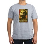 Ron Paul Men's Fitted T-Shirt (dark)