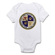 USS Long Beach CGN 9 Infant Creeper