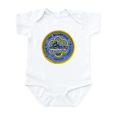 USS Bainbridge CGN 25 Infant Creeper