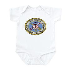 USS Truxtun CGN 35 Infant Creeper