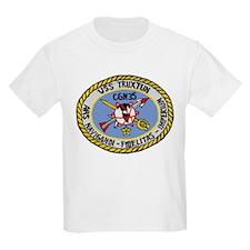 USS Truxtun CGN 35 Kids T-Shirt