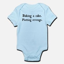 Cute Revenge of the ninja Infant Bodysuit