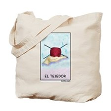 El Tejedor [for guy knitters] Tote Bag