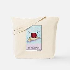 El Tejedor [for guy knitters] Tote Bag