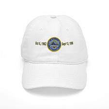 USS Bainbridge CGN 25 Decommisioning Baseball Cap