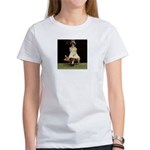 Girl on Taxidermy Pig Women's T-shirt