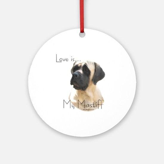 Mastiff 59 Ornament (Round)