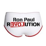 Ron Paul Revolution Women's Boy Brief