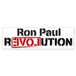 Ron Paul Revolution Sticker (Bumper 10 pk)