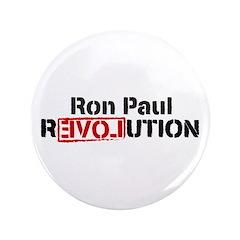 """Ron Paul Revolution 3.5"""" Button"""