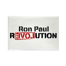 Ron Paul Revolution Rectangle Magnet