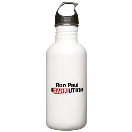 Ron Paul Revolution Stainless Water Bottle 1.0L