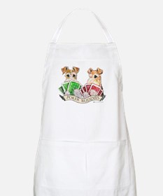 Fox Terrier Poker Buddies BBQ Apron