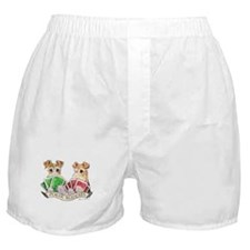 Fox Terrier Poker Buddies Boxer Shorts